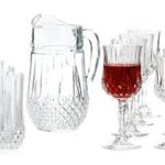 Today Only: Longchamp Diamax Collection 4-Piece Glass Sets and Pitcher On Sale For Only $9.99!