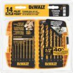 DEWALT 14-Piece Titanium Drill Bit Set Only $12.99