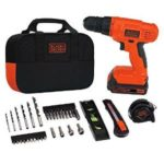 Black & Decker 20V Lithium Drill/Driver Project Kit Just $49 Shipped