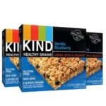3 Boxes of KIND Healthy Grains Granola Bars, Vanilla Blueberry Just $5.07 – $5.67 + Free Shipping!