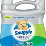 95 Fluid Ounce Snuggle Plus Super Fresh Fabric Softener Liquid with Odor Eliminating Technology Just $6.92