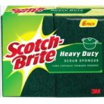 6 Pack of Scotch-Brite Heavy Duty Scrub Sponge Just $2.57-$2.87 + Free Shipping