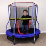 Skywalker 55″ Round Bounce-n-Learn Interactive Game Trampoline For Just $39!