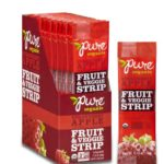 Pure Organic Fruit and Veggie Strip, Strawberry Apple, 24 Count For Just $9.18-$10.70 + Free Shipping
