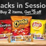Amazon: Grt An Extra $5 Off With Purchase Of 2 Snack Items! (Gatorade, Lays, Tropicana, Quaker + More!)