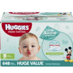 Case of 648-Count Huggies Baby Wipes From Just $6.49 + Free Shipping!