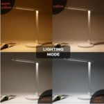 TaoTronics LED Dimmable Desk Lamp w/ 5 Color Modes and USB Charging Port For $24.99 After Code