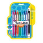 Paper Mate InkJoy Retractable Ballpoint Pens, Assorted Ink, 8 Pack For $3