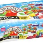 Apple & Eve 100% Juice Variety Pack, 32 Count, 6.75 Oz Boxes Just $6.78-$7.58 + Free Shipping (21¢-23¢ Per Juice Box)