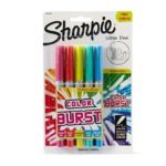 Sharpie Color Burst Permanent Markers, 5-Pack For $2.68