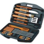 Chefs Basics 18-Piece Stainless-Steel Barbecue Set with Carrying Case Only $9.99!