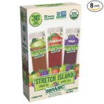 8 Variety Boxes of 36 Count (288 Total) Stretch Island Organic Fruit Strips Only $32! ($4 Per Box!!)