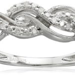 Sterling Silver Diamond Twist Ring For As Low As Only $19.99!
