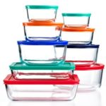Pyrex 18-Pc. Simply Store Set with Colored Lids For $21.24 From Macy's