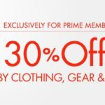 Amazon Prime: Extra 30% off Baby Clothing, Baby Gear, Diaper Bags, Strollers, Accessories & More!