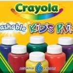 Prime Members: Crayola Washable Kid's Paint (6 count) Just $3.95 Shipped