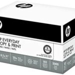 5000 Sheets / 10 Ream Case of HP Paper For Just $33.36