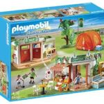PLAYMOBIL Camp Site Playset Just $30