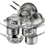 T-fal Tri-ply Stainless Steel Multi-clad Dishwasher Safe Oven Safe 12-Piece Cookware Set Only $109.87! (Reg. $185)
