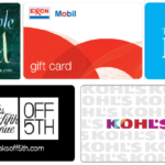 Save On ExxonMobil, Children's Place, Barnes & Noble, Kohl's, Saks Off 5th and Conoco Gift Cards