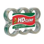 Duck Brand HD Clear High Performance Packaging Tape, 6-Pack Just $9.58 + Free Shipping