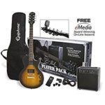 Epiphone Les Paul Electric Guitar Player Package Just $166 Shipped