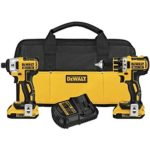 Lowest Ever: DEWALT 20V Max XR Lithium Ion Brushless Compact Drill/Driver & Impact Driver Combo Kit Just $189 Shipped!