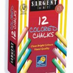 Sargent Art 12-Count Colored Dustless Chalk For Only 82¢