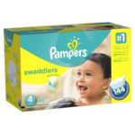 Case of Size 4 Pampers Swaddlers Diapers Economy Pack Plus Diapers For As Low As $23.47 Shipped!