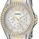 Fossil Women's Riley Silver and Gold Tone Watch Only $49.99 w/ Free Shipping! (Dropped From $125!)