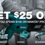 Amazon: $25 off $100 On Orders Of Bosch and Makita Tools!