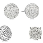 Amazon: Up to 60% Off Diamond Stud Earrings!