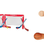 Up to 65% Franklin Sports Shoot Again Basketball and Set of 2 Mini Hockey Goals