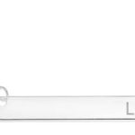 Zales: 16″ Personalized Horizontal Bar Necklace in Sterling Silver For Just $24.99 w/ Free Shipping