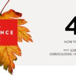 Nordstrom Fall Clearnce Sale – Up To 40% Off Sitewide