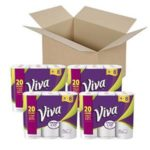 VIVA Choose-A-Sheet Paper Towels, 24 Big Rolls Just $15.28-$17.08 + Free Shipping!