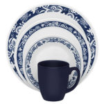 Corelle Livingware True Blue 16-Piece Dinnerware Set For $24.70