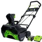 GreenWorks Pro 80V 20-Inch Cordless Snow Thrower, 2Ah Battery & Charger Included Just $250 Shipped!
