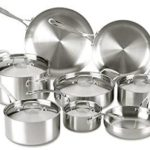 Lagostina Axia Tri-Ply Stainless Steel Dishwasher Safe & Oven Safe 13-Piece Cookware Set Only $199.99 Shipped! (Reg $280)