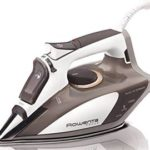 Rowenta Focus 400-Hole 1700-Watt Micro Steam Iron Stainless Steel Soleplate with Auto-Off Only $47!