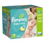 Get A Case Of Pampers Diapers For As Low As $23.11 Shipped!