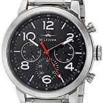 Tommy Hilfiger Men's Jake Analog Display Japanese Quartz Silver Watch Just $77.50