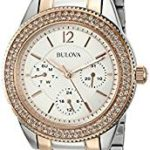 Bulova Women's Multi-Function Crystal Bracelet Watch Just $111 Shipped!