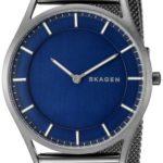 Skagen Denmark Men's Slim Holst Watch In Smoketone With Mesh Bracelet Only $97.99 Shipped!