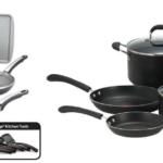 Farberware High Performance Nonstick Aluminum 17-Piece Cookware Set Just $45.27 – T-fal Professional 10-Piece Set Just $69!