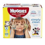 Case of 648-Count Huggies Baby Wipes Just $7.88 – $8.99 + Free Shipping!