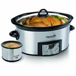 Stainless Steel 6-Quart Crock-Pot Countdown Programmable Oval Slow Cooker with Dipper Just $29.99