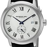 Raymond Weil Men's 'Maestro' Swiss Automatic Stainless Steel and Leather Watch Just $449 Shipped After Code!