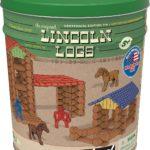 LINCOLN LOGS Centennial Edition Tin 153 Piece Set Only $30.49!