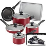Farberware Dishwasher Safe Nonstick 15-Piece Cookware Set Only $37.13